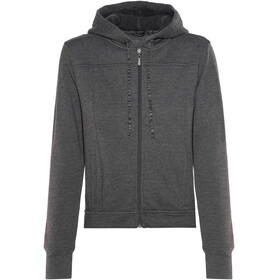 Prana Ari Zip Up Fleece Jacket Women Black